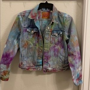 Levi's colored dyed Jean Jacket